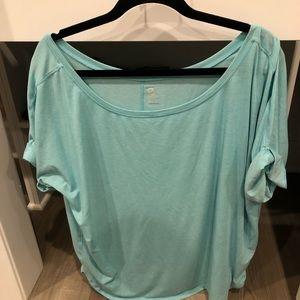 GAP Tops - GapFit Breathe Roll Sleeve T-Shirt
